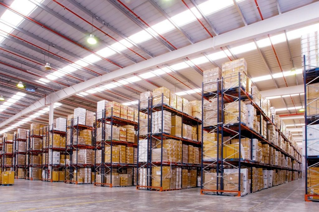 move storage throughout a warehouse's